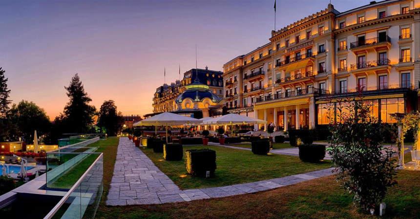 Отель Beau-Rivage Palace 5*, Лозанна? Швейцария