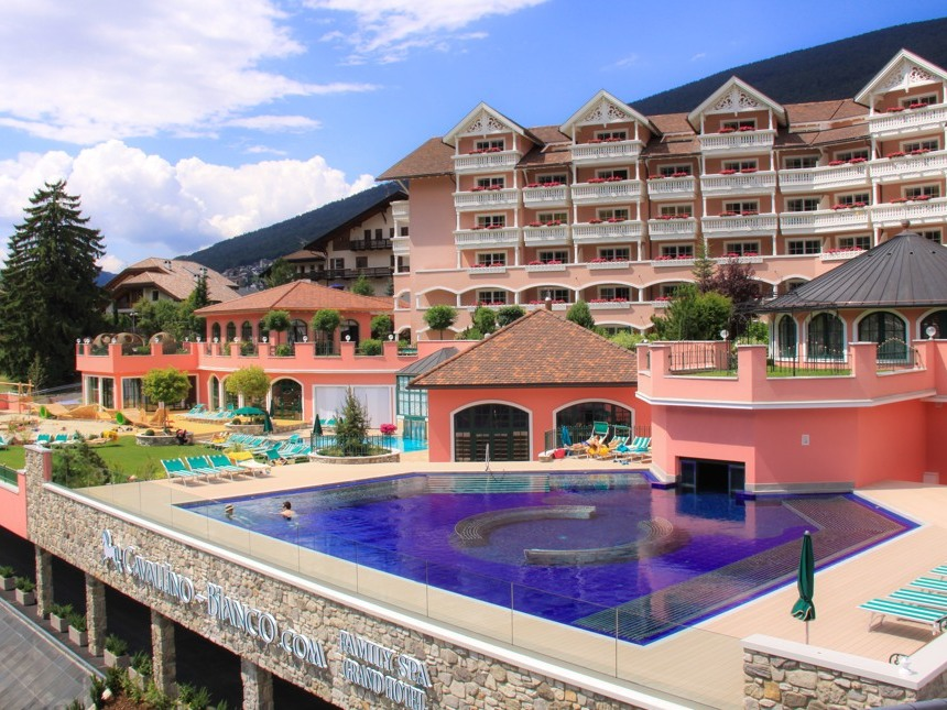 Cavallino Bianco Family Spa Grand Hotel 4*S, г. Ортизеи, Италия