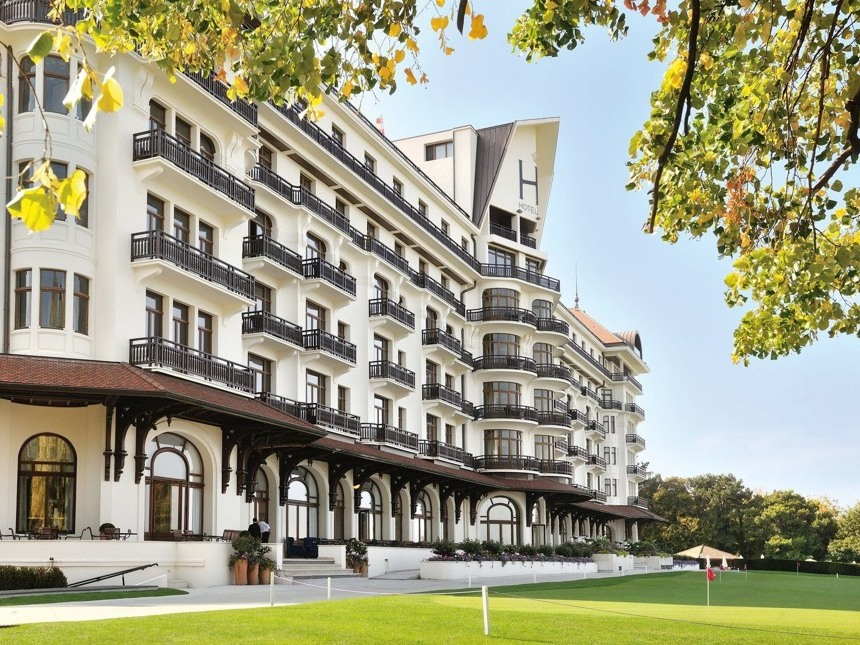 Evian Royal Hotel 5*, г.Эвиан-ле-Бен, Франция