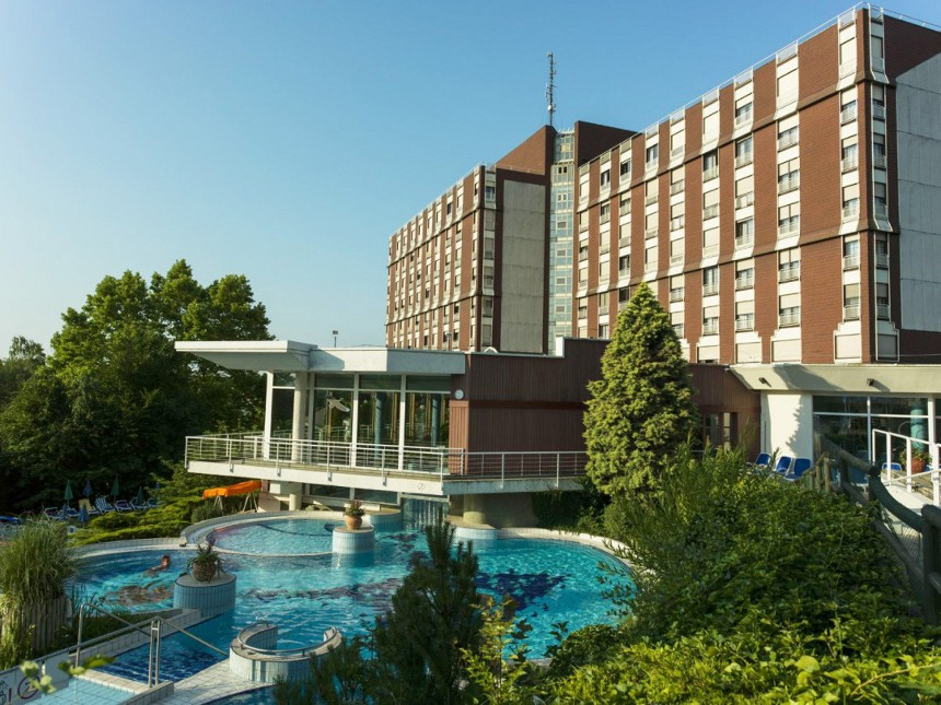 Ensana Thermal Aqua Health Spa Hotel 4*S, Хевиз, Венгрия
