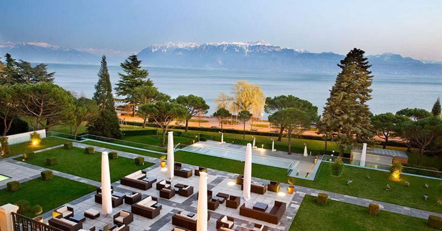 Оздоровление в отеле Beau-Rivage Palace 5*, Швейцария