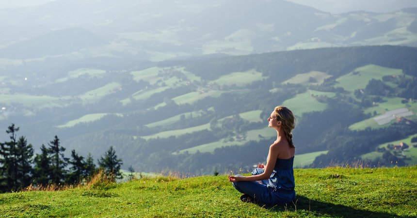 Восстановление дыхания в горах
